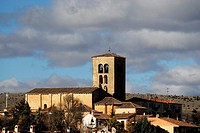 Church of El Salvador in Sepulveda, Segovia province, Spain
