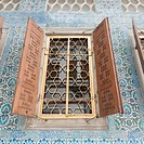 Open Wooden Shutters On A Window At Topkapi Palace, Istanbul Turkey