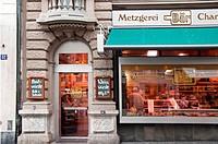 butchers, Zurich, Switzerland