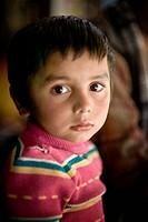 Portrait of Sandesh Sharma, Naya Pul, Annapruna Himal, Nepal, Asia