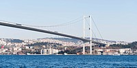 Bosphorus Bridge Over The Bosphorus Strait, Istanbul Turkey