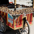A Food Cart, Istanbul Turkey