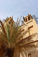 Wind towers of the Souk Madinat, Dubai, United Arab Emirates