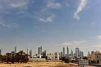 Skyline of Dubai, United Arab Emirates