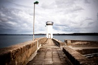 Lighthouse in Camaret sur Mer, Brittany, France