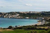Bay of Il_Mellieha, Malta, Mediterranean, Europe