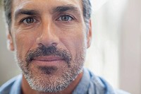 Portrait of attractive and rugged looking man (thumbnail)