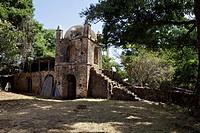 Narga Selassie island monastery, Lake Tana, Zege Peninsula, Ethiopia, Africa