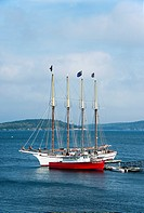 Margaret Todd Windjammer Cruise sailboat, Bar Harbor, Maine, USA