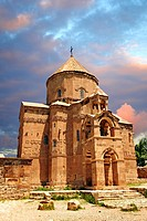 10th century Armenian Orthodox Cathedral of the Holy Cross on Akdamar Island, Lake Van Turkey 66