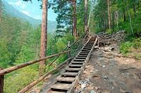 Arshan, Tunkinsky District, Republic of Buryatia, Siberia, Russian Federation, Sayan Mountains