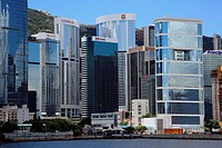 Admiralty skyline, Hong Kong