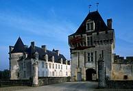 Chateau de la Roche Courbon, Saint-Porchaire, Poitou-Charentes. Detail. Detail. France, 15th-18th century.
