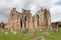 Europe  United Kingdom  Scotland  The Scottish Borders  Melrose  Melrose Abbey
