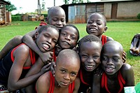 KENYA  Don Bosco's Home for Children   Turkana boys   photo by Sean Sprague