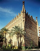 Teresian College of Barcelona, by architect Antoni Gaudi. Spain, 19th century.