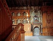 Teatro Farnese interior view, 1617-1618, by Giovan Battista Aleotti (1546-1636), Parma, Emilia-Romagna. Italy, 17th century.