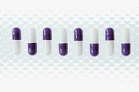 Row of capsules