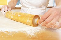 Rolling dough
