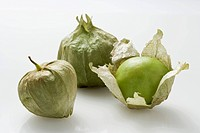 Three tomatillos