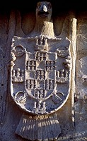 Architectural detail from the monastery of St Zoilus, Carrion de los Condes, Castile and Leon. Spain, 10th-11th century.