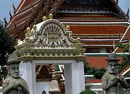Wat Pho Temple, Bangkok, Thailand.