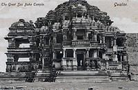 Postcard ; Sas Bahu Temple ; Gwalior ; Madhya Pradesh ; India