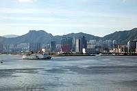 Overlooking Kowloon Bay and Kwun Tong at Kowloon East, Hong Kong
