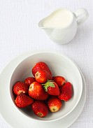Strawberries &amp, cream