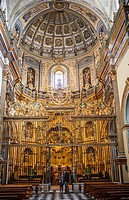 Interior of Sacra capilla del Salvador,Church of the Salvador 16th century in Plaza de Vázquez Molina, Úbeda  Jaén province  Andalusie  Spain