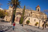 Church, Iglesia, de San Pablo, Plaza Primero de Mayo, Ubeda, Andalusia, Spain