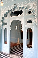 City palace museum , Udaipur , Rajasthan , India