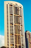 Nagpada tallest building at Mahalaxmi ; Bombay Mumbai ; Maharashtra ; India