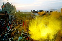 Dasshera celebrations at the at the famous Jejuri temple ; pune ; Maharashtra ; India