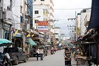 Street scene ; Thailand