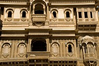Patwon ki haveli at Jaisalmer , Rajasthan , India