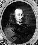 Corneille, Pierre, 6.6.1606 _ 1.10.1684, French author / writer, portrait, copper engraving, 17th century,
