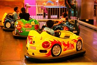 Children enjoying their games at the Planet Infiniti in the infinity mall ; Andheri ; Bombay now Mumbai ; Maharashtra ; India
