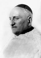 Richaud, Paul Marie, 16.4.1887 _ 5.2.1968, French clergyman, Archbishop of Bordeaux 10.2.1950 _ 5.2.1968, portrait, 1967,
