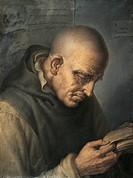 Fra Modesto, a trappist monk, by Balli (19th century).  Roma, Palazzo Del Quirinale Collezioni Della Presidenza Della Repubblica
