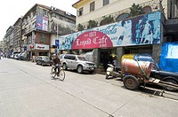 Leopold cafe ; Colaba ; Bombay now Mumbai ; Maharashtra ; India