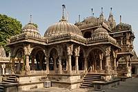 Heritage jain architecture Hathi Singh´s jain temple ; Ahmedabad ; Gujarat ; India