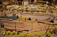 model of the railway