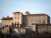 Della Manta Castle, Manta (Cuneo), Piedmont, Italy, 13th-16th century.