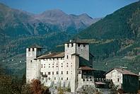 Castle of Cles, Cles (Trento), Val di Non, Trentino-Alto Adige. Italy, 13th-16th century.