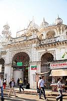 Place of worship Jama or Jumma masjid ; Janjikar street ; Marine Lines ; Bombay Mumbai ; Maharashtra ; India