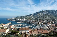 Europe, France, Bouches-du-Rhone 13, Marseille, European Capital of Culture 2013, 9th district, creek, Calanque National Park since 18/04/2012 Les Gou...