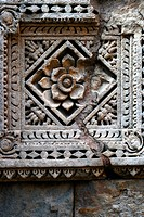 Geometric Patterns , Rani ki vav , stone carving , underground structure , step well , Patan , Gujarat , India