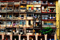 Chawls ; Bombay Mumbai ; Maharashtra ; India