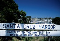 Santa Cruz Harbor, Santa Cruz, California, USA
